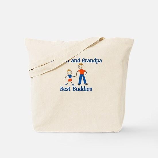 Jackson & Grandpa - Best Budd Tote Bag