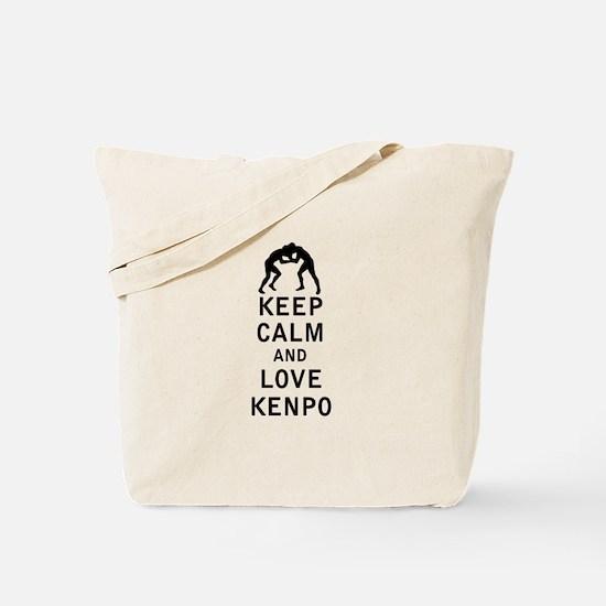 Keep Calm and Love Kenpo Tote Bag