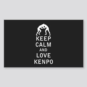 Keep Calm and Love Kenpo Sticker