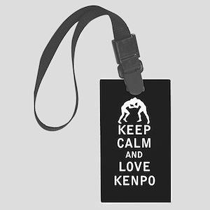 Keep Calm and Love Kenpo Luggage Tag