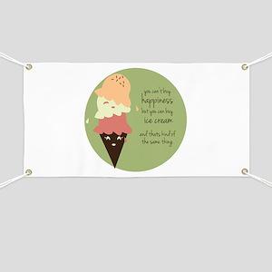 Buy Ice Cream Banner