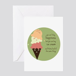 Buy Ice Cream Greeting Cards
