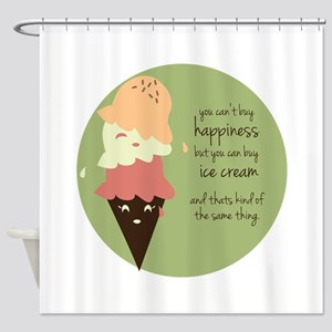 Buy Ice Cream Shower Curtain