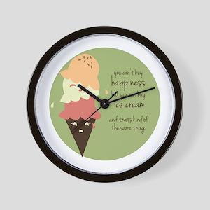 Buy Ice Cream Wall Clock