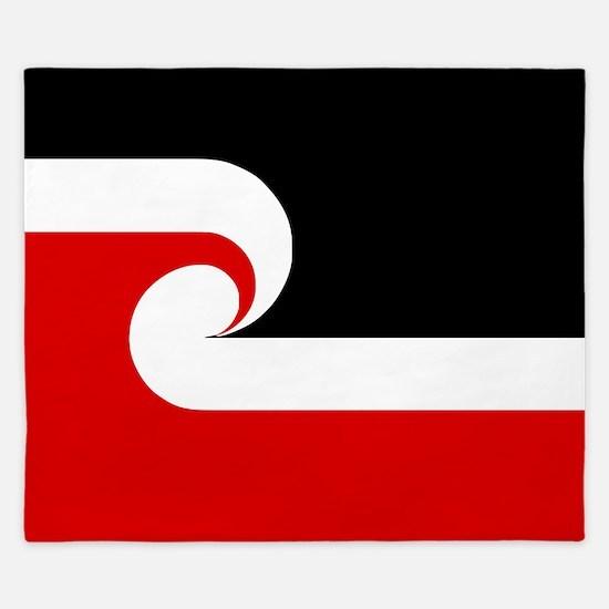 Maori Flag (Tino Rangatiratanga).png King Duvet