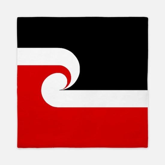 Maori Flag (Tino Rangatiratanga).png Queen Duvet