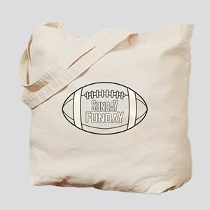 Football Sunday Funday Tote Bag