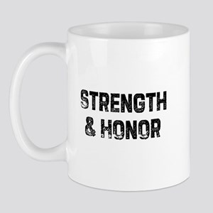 Strength & Honor Mug