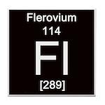 Periodic Table Flerovium Tile Coaster