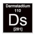 Periodic Table Darmstadtium Tile Coaster