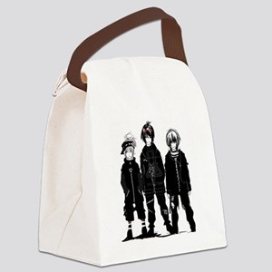 Naughty Boys  Canvas Lunch Bag