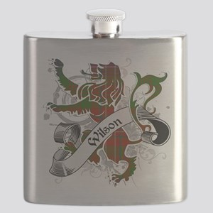 Wilson Tartan Lion Flask
