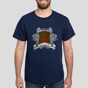 Wilson Tartan Shield Dark T-Shirt