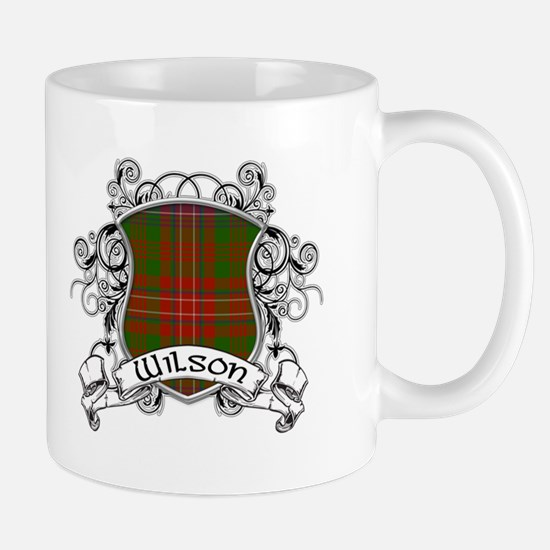 Wilson Tartan Shield Mug