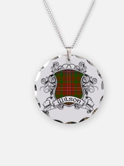 Wilson Tartan Shield Necklace
