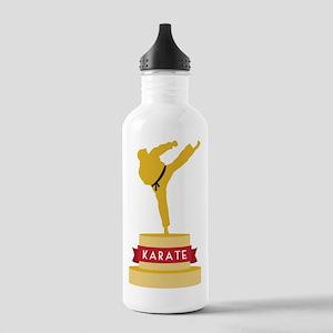 Karate Trophy Water Bottle