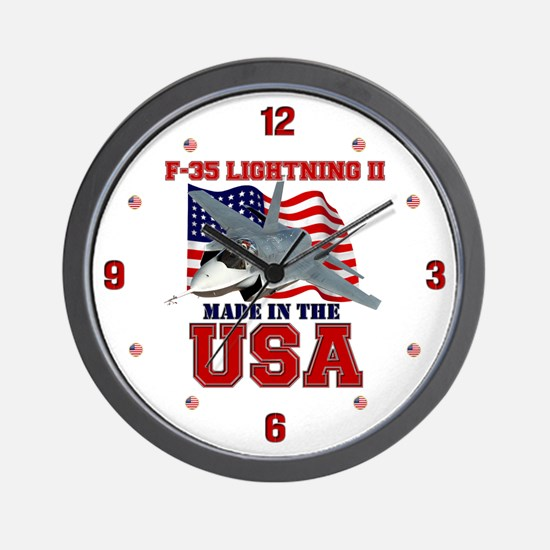 F-35 Lightning II Wall Clock