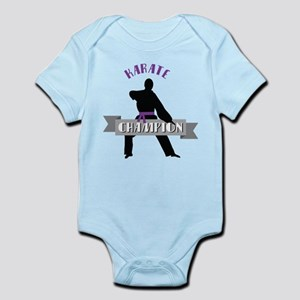 Karate Champion Decal Body Suit
