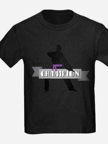 Karate Champion Decal T-Shirt
