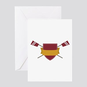 Crew Shield Greeting Cards