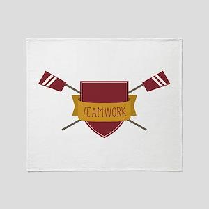 Crew Shield Throw Blanket