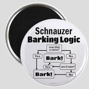 Schnauzer logic Magnet
