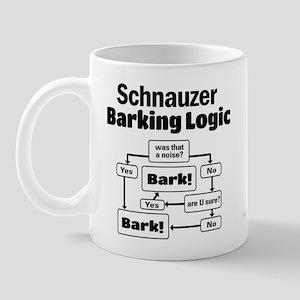 Schnauzer logic Mug