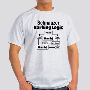 Schnauzer logic Light T-Shirt