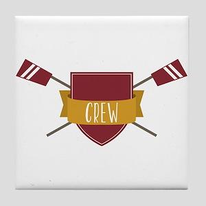 Crew Shield Tile Coaster
