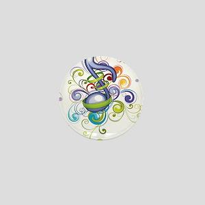 Music in the air Mini Button