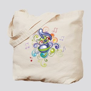 Music in the air Tote Bag