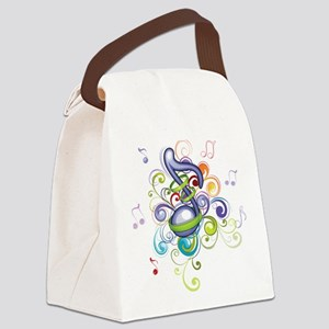 Music in the air Canvas Lunch Bag