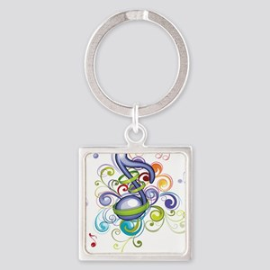 Music in the air Keychains