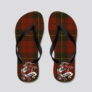 Wallace Unicorn Flip Flops