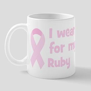 Mom Ruby (wear pink) Mug