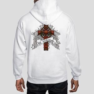 Wallace Tartan Cross Hooded Sweatshirt
