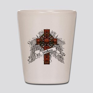 Wallace Tartan Cross Shot Glass