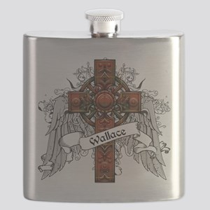 Wallace Tartan Cross Flask