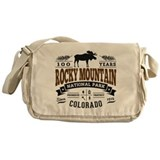 Rocky mountain national park Canvas Messenger Bags