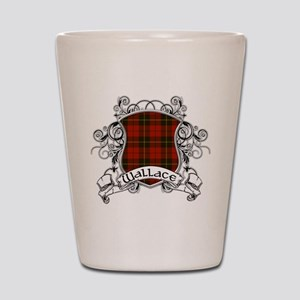 Wallace Tartan Shield Shot Glass