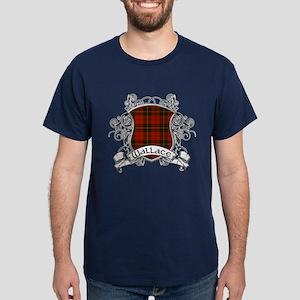 Wallace Tartan Shield Dark T-Shirt