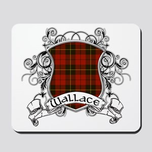 Wallace Tartan Shield Mousepad