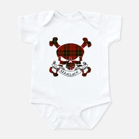 Wallace Tartan Skull Infant Bodysuit