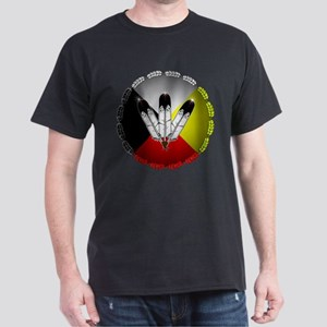 Three Eagle Feathers T-Shirt