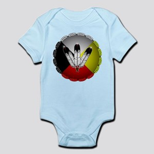 Three Eagle Feathers Body Suit