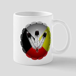 Three Eagle Feathers Mugs