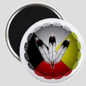 Three Eagle Feathers Magnets