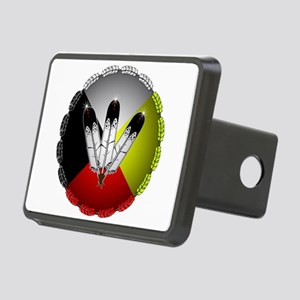 Three Eagle Feathers Hitch Cover