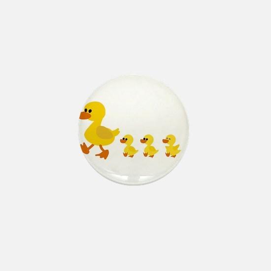 Unique Cute duck Mini Button