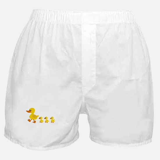 Funny Duck Boxer Shorts